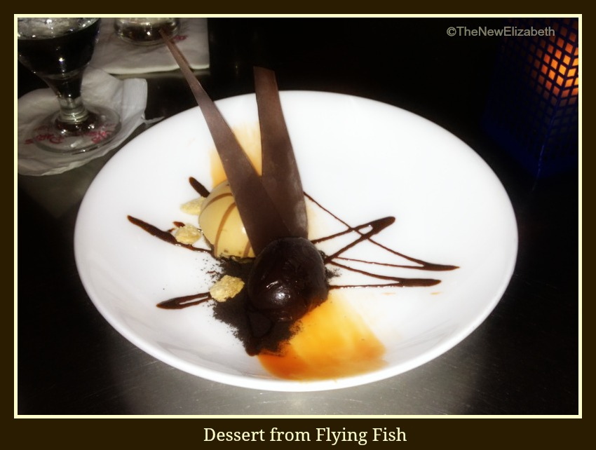 Dessert from Flying Fish