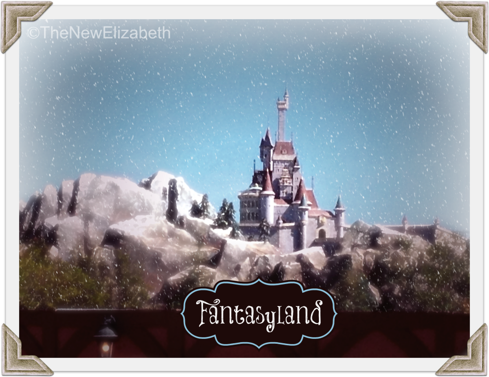 The Beasts's Castle New Fantasyland Disney