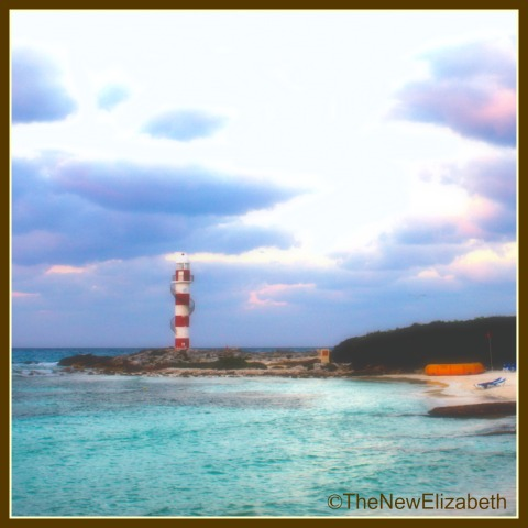 Beach Lighthouse Cancun